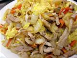 豚肉と白菜の炒めもの