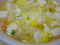 鶏ささみと豆腐のトロトロ煮