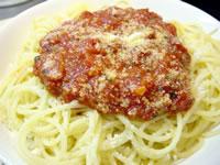トマト・ソースのスパゲティ
