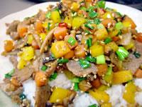 エスニック野菜炒めご飯