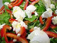 リコッタチーズのサラダ